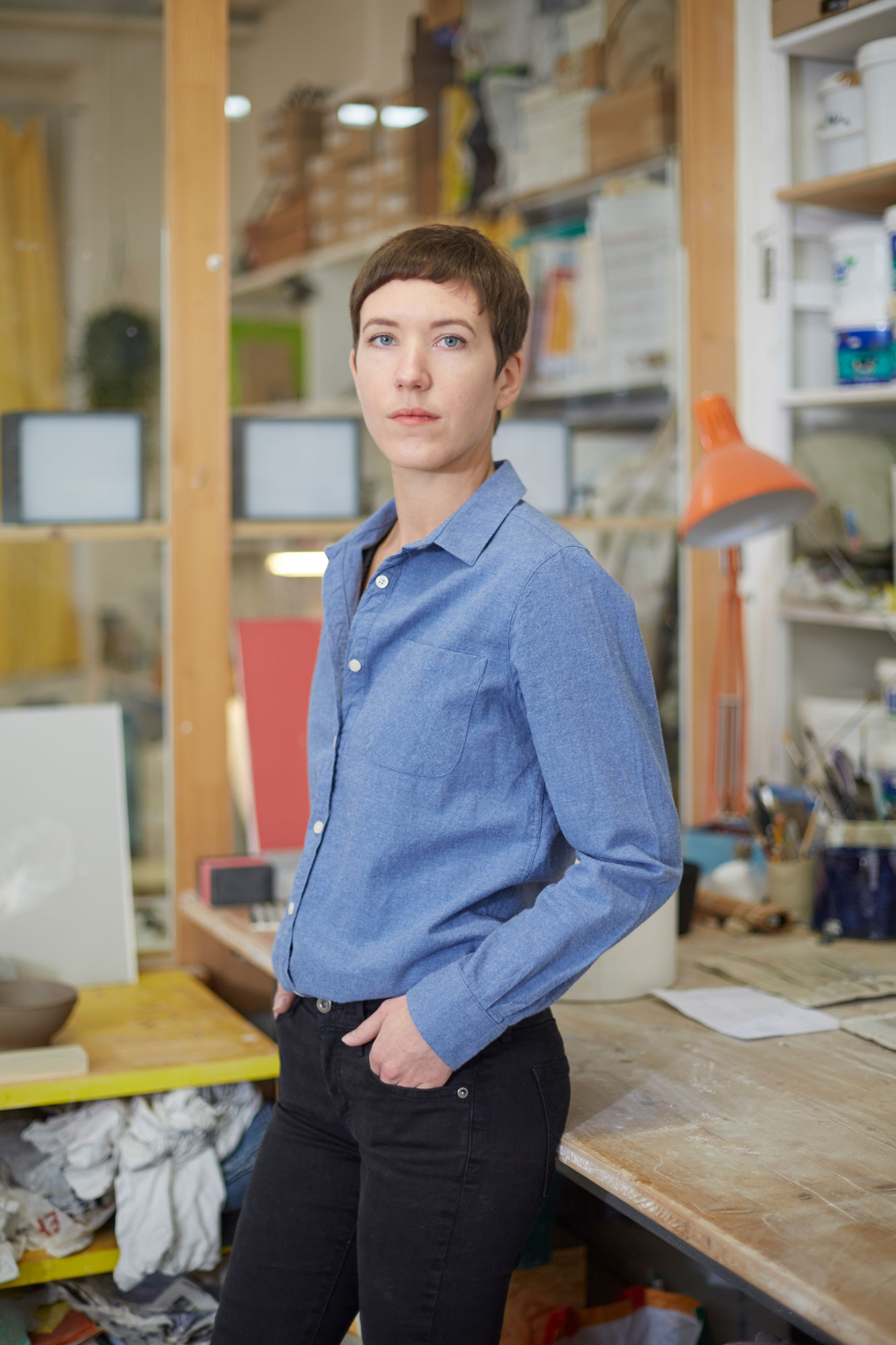 Sophie Mirra Grandjean, céramiste, à L-Imprimerie