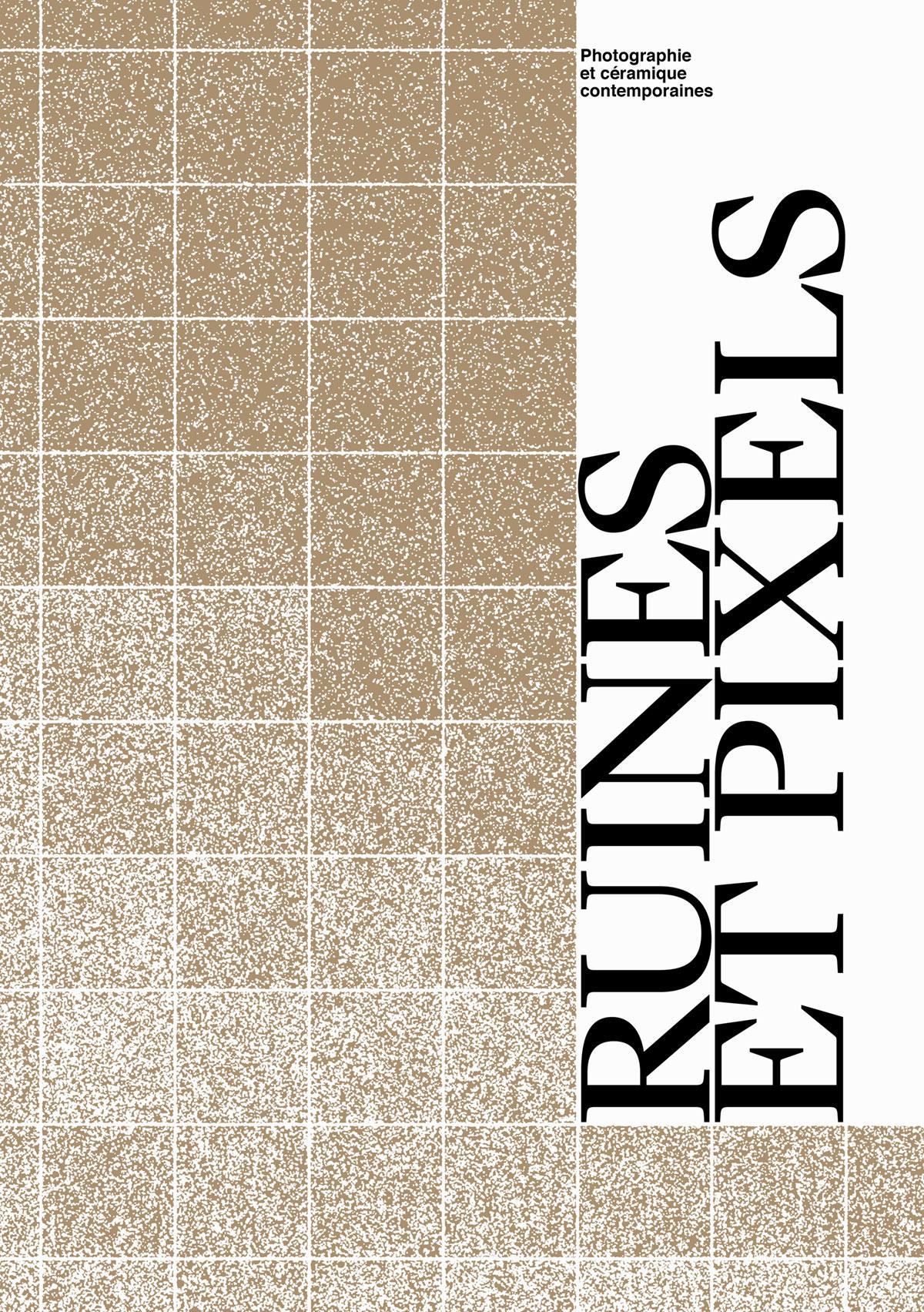 Ruines et Pixels, affiche