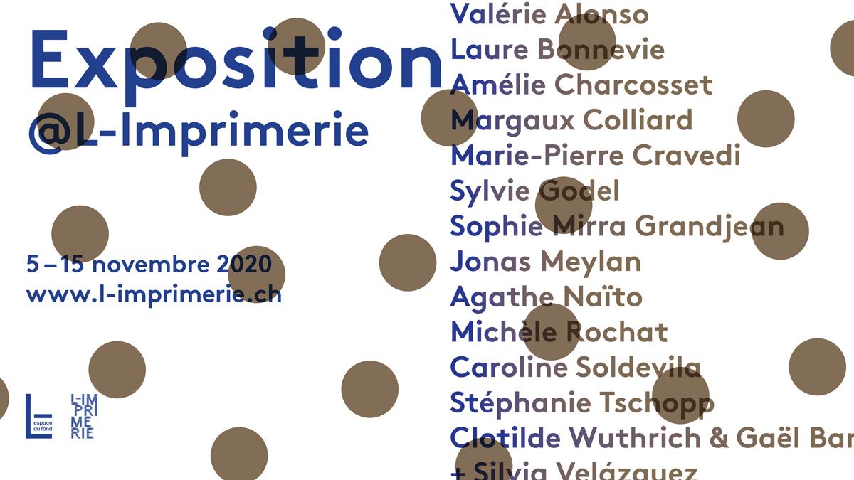 Exposition à L-Imprimerie novembre 2020