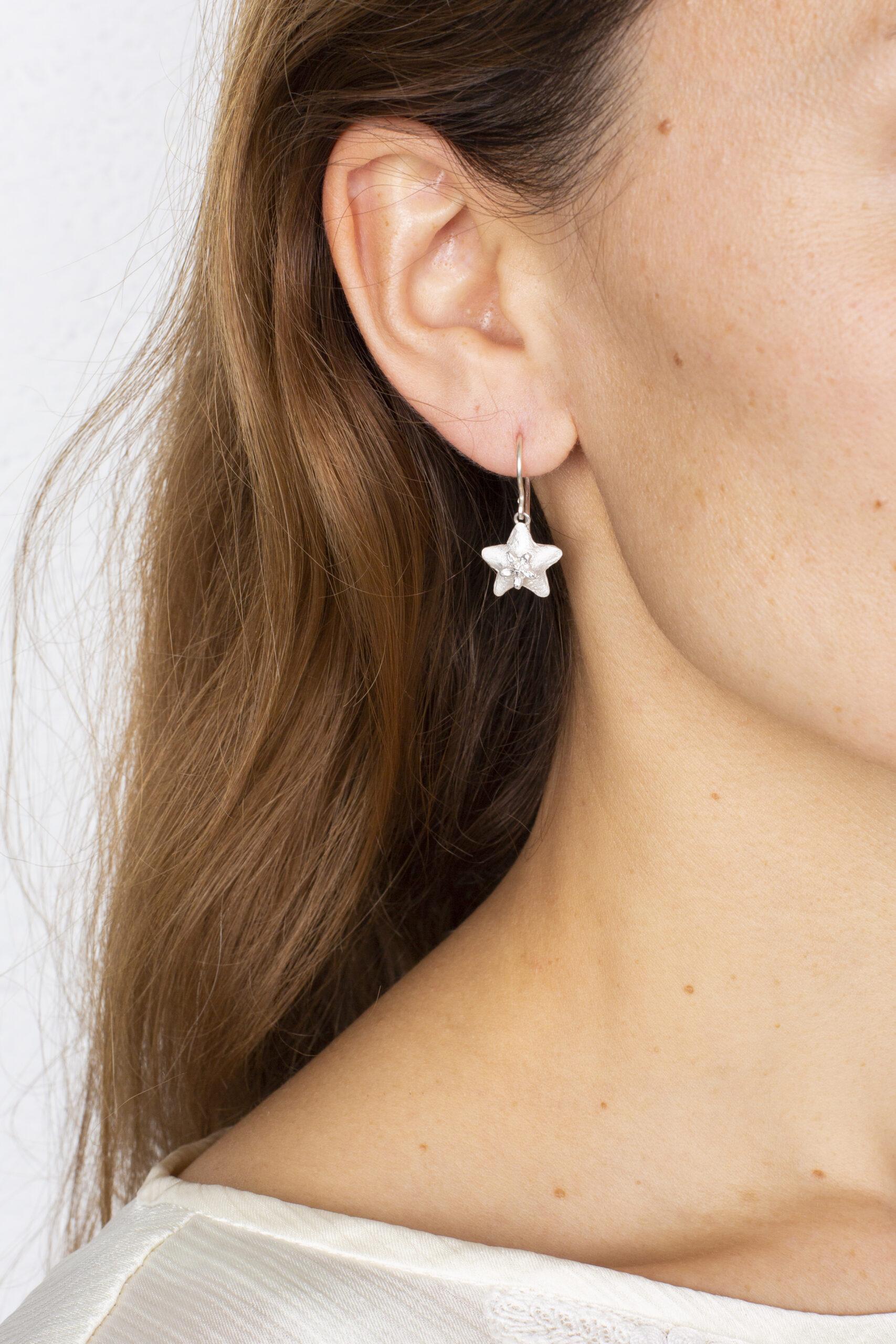 """Boucles d'oreilles """"étoiles"""" – argent 925"""