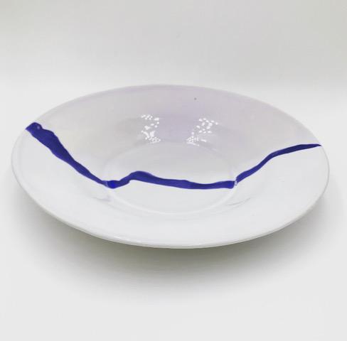 Assiette en céramique de Margaux Colliard