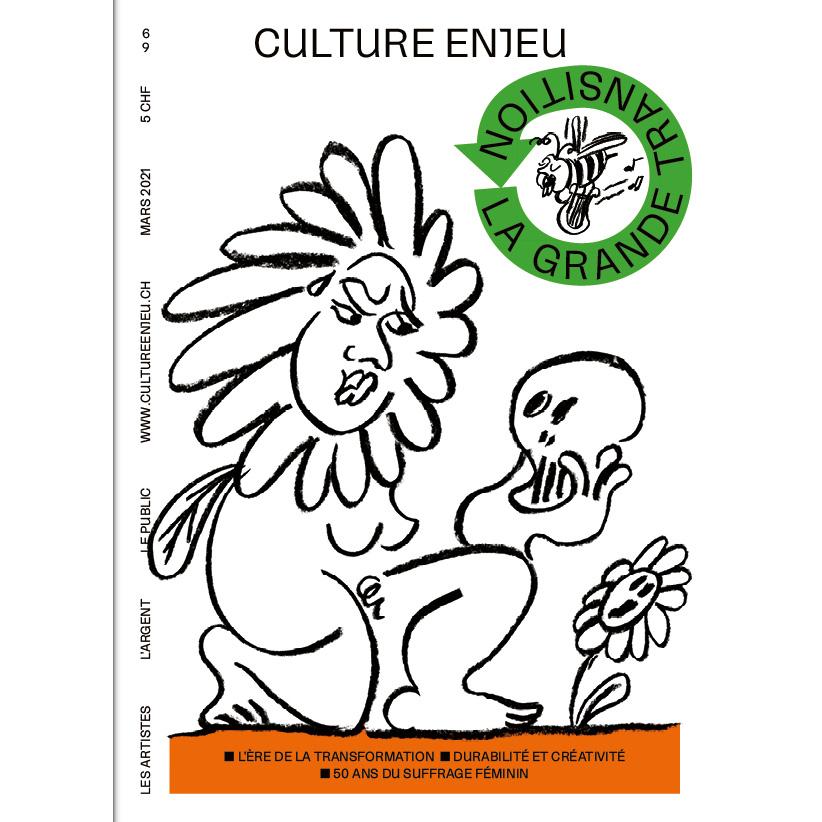 Couverture du n° 69 de la revue romande Culture Enjeu